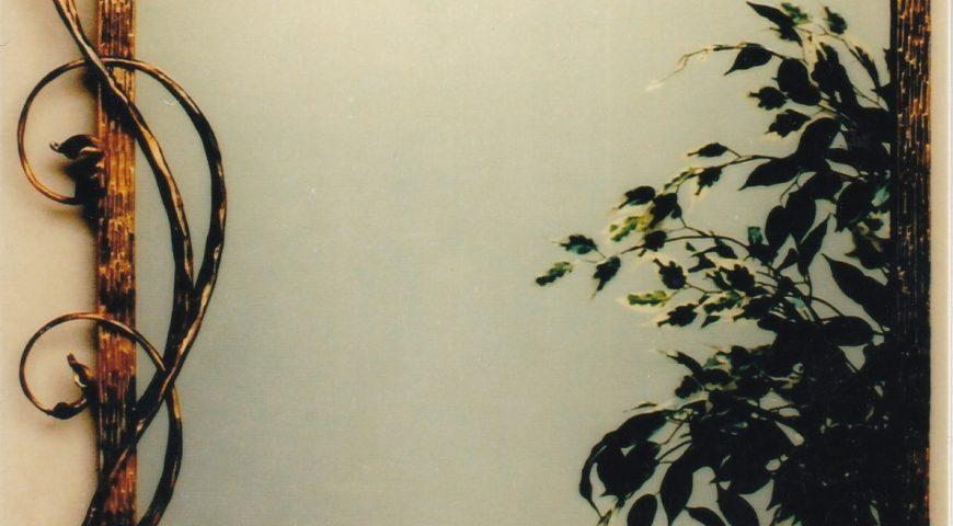Specchio in ferro battuto SP 16