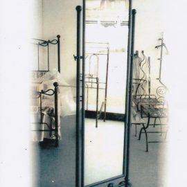 Specchio da terra in ferro battuto SP 19
