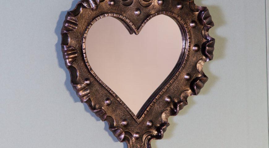 Specchio in ferro battuto SP 25