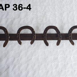 APPENDIABITI DA PARETE IN FERRO BATTUTO AP 36-4