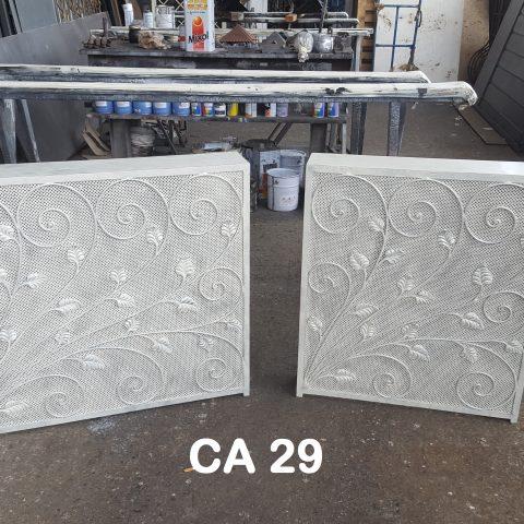 Copri termosifone in ferro battuto CA 29