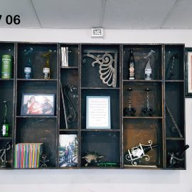Libreria in Corten LV 06