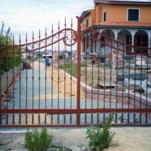 Cancello carrabile in ferro battuto CC 14