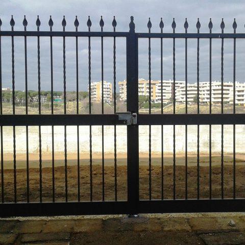 Cancello carrabile in ferro battuto CC 29