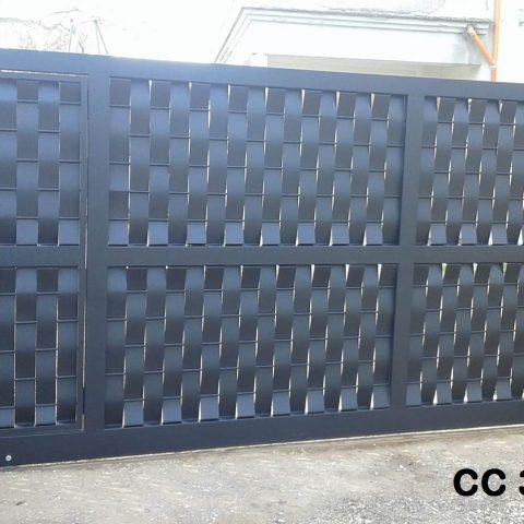Cancello carrabile in ferro battuto CC 39