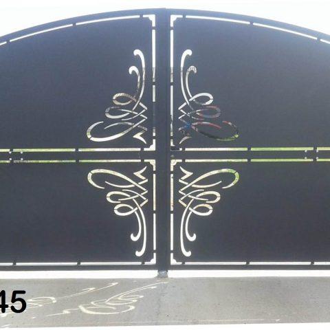 Cancello carrabile in ferro battuto CC 45