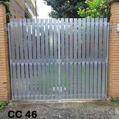 Cancello carrabile in ferro battuto CC 46