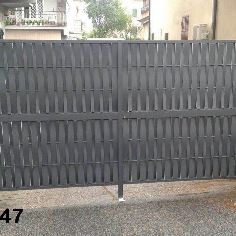 Cancello carrabile in ferro battuto CC 47