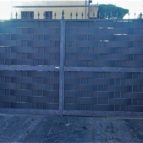 Cancello carrabile in ferro battuto CC 51