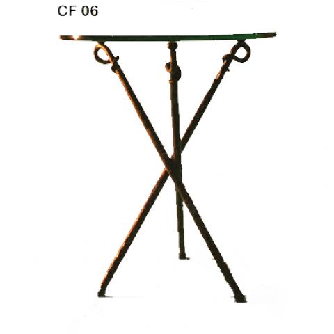 Comodino in ferro battuto CF 06