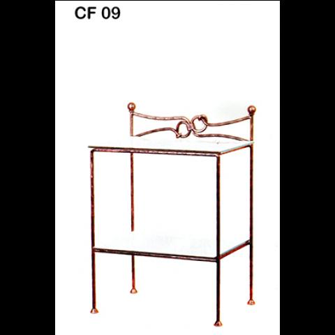 Comodino in ferro battuto CF 09