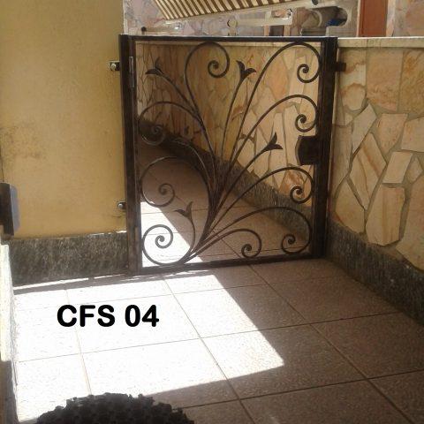 Cancelletto fondo scala CFS 04
