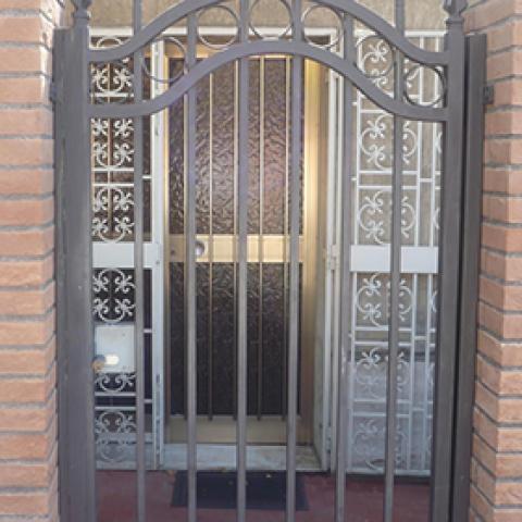 Cancello pedonale in ferro battuto CP 04
