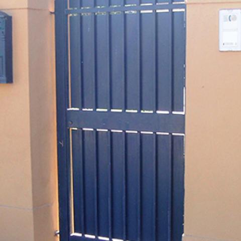 Cancello pedonale in ferro battuto CP 08