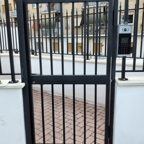Cancello pedonale in ferro CP 10
