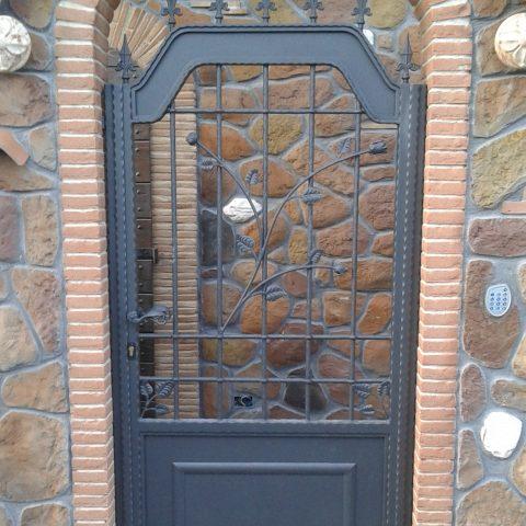 Cancello pedonale in ferro battuto CP 18