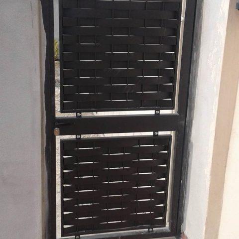 Cancello pedonale in ferro battuto CP 19