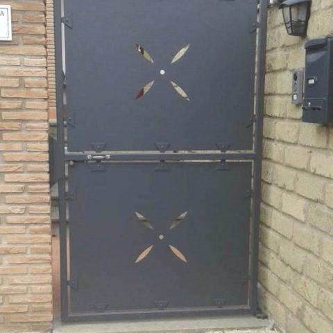 Cancello pedonale in ferro battuto CP 20