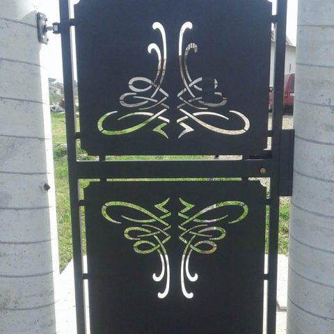 Cancello pedonale in ferro battuto CP 21