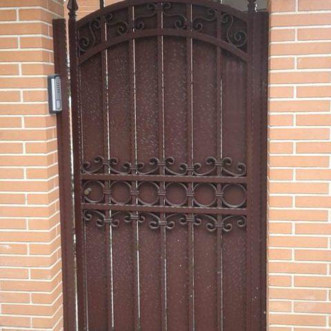 Cancello pedonale in ferro battuto CP 22