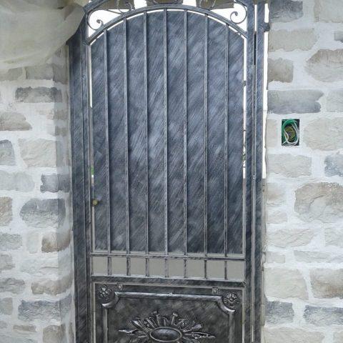 Cancello pedonale in ferro battuto CP 26