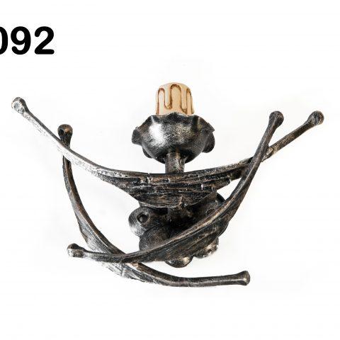 Applique in ferro battuto IL 092
