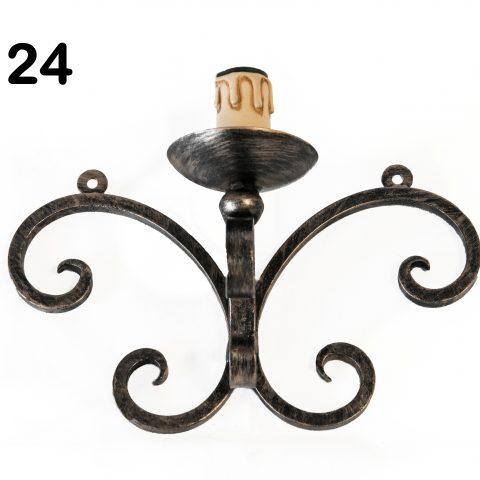Applique in ferro battuto IL 124
