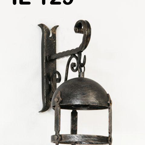 Lanterna in ferro battuto IL 129