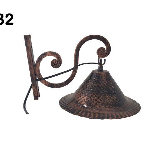 Lanterna in ferro battuto IL 132