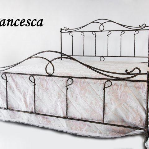 Letto matrimoniale in ferro battuto LF FRANCESCA