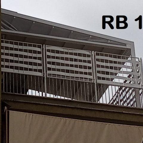 Ringhiera per balconi in ferro battuto RB 12