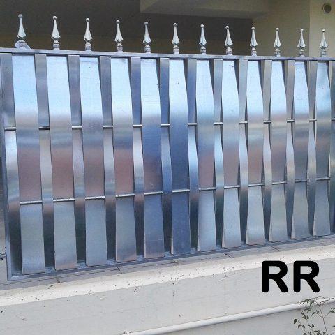 Ringhiera per recinto in ferro battuto RR 17