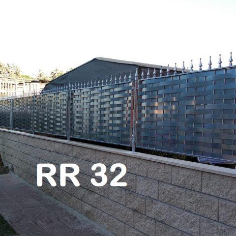 Ringhiera per recinto in ferro battuto RR 32