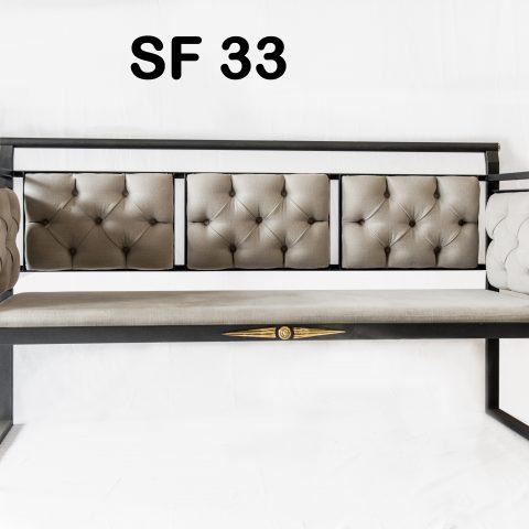 Divanetto in ferro battuto SF 33