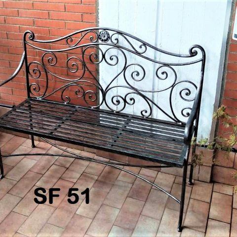 Divanetto in ferro battuto SF 51