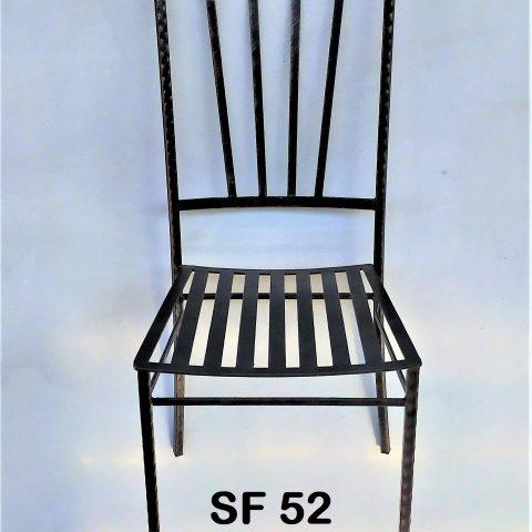 Sedia in ferro battuto SF 52