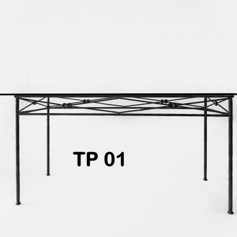 Tavolo da pranzo in ferro battuto TP 01