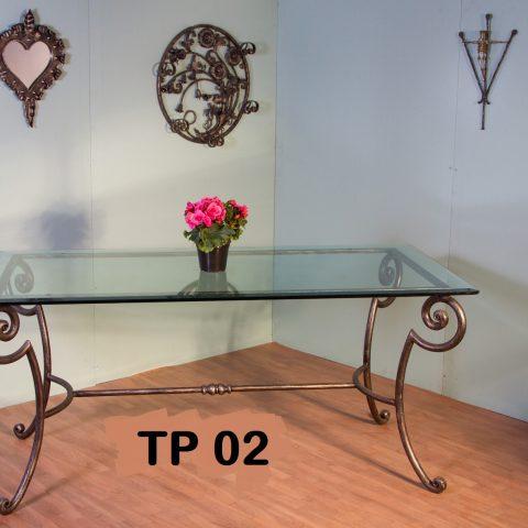 Tavolo da pranzo in ferro battuto TP 02