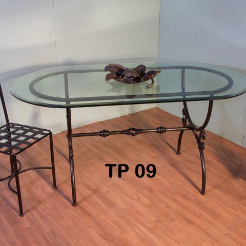 Tavolo da pranzo in ferro battuto TP 09
