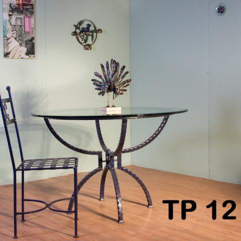Tavolo da pranzo in ferro battuto TP 12