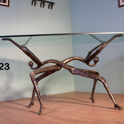 Tavolo da pranzo in ferro battuto TP 23