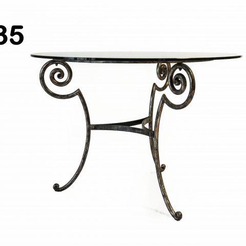 Tavolo da pranzo in ferro battuto TP 35