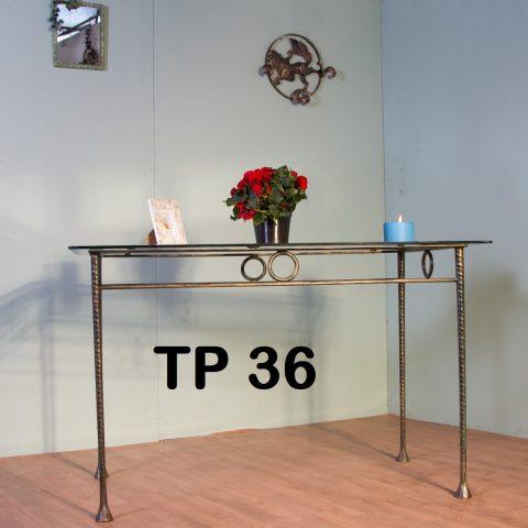 Tavolo da pranzo in ferro battuto TP 36