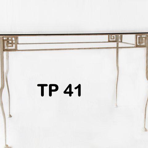 Tavolo da pranzo in ferro battuto TP 41