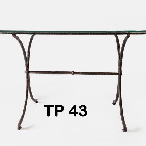 Tavolo da pranzo in ferro battuto TP 43