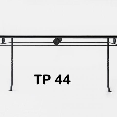 Tavolo da pranzo in ferro battuto TP 44