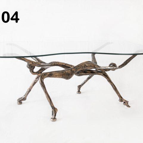 Tavolino da salotto in ferro battuto TS 04