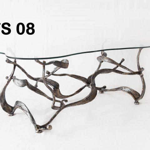 Tavolino da salotto in ferro battuto TS 08