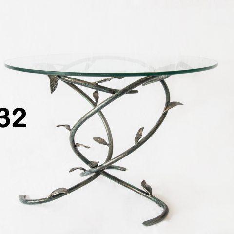 Tavolino da salotto in ferro battuto TS 32