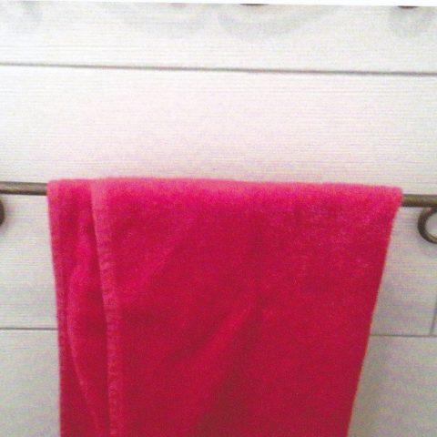 Porta asciugamani in ferro battuto AB 01